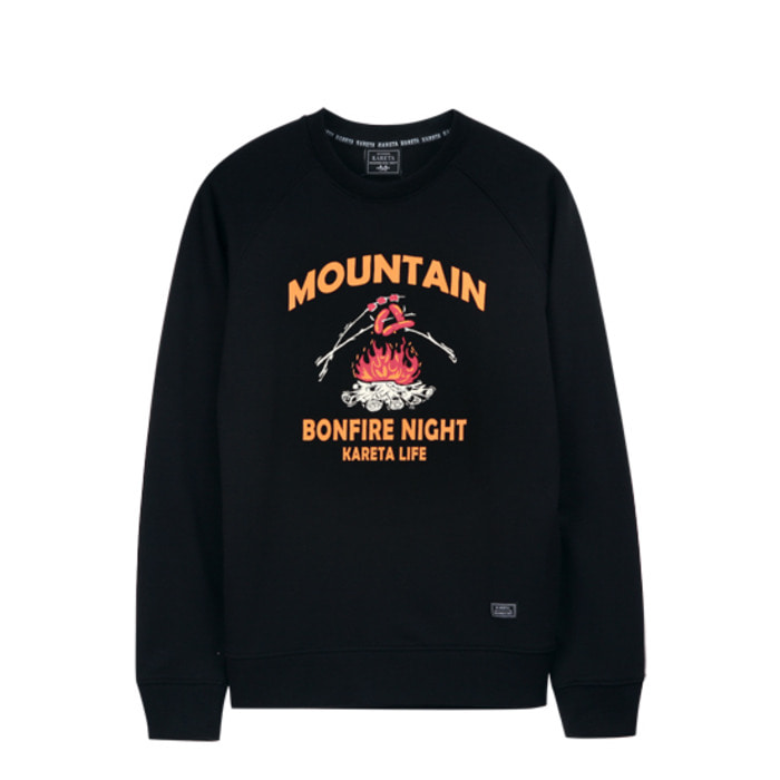 Mountain Crewneck Black
