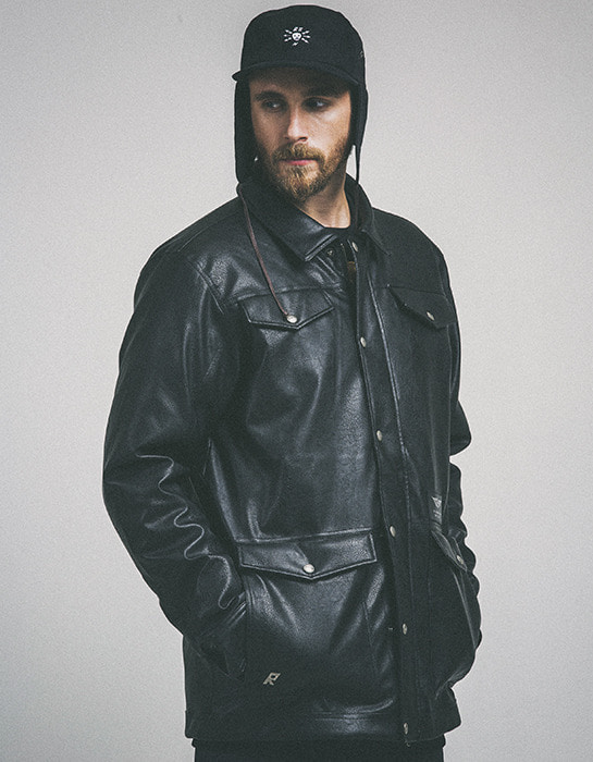Mustang Jacket Black (Ranger)