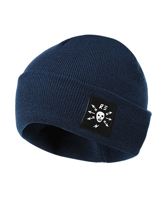 Worker Beanie Deep Blue