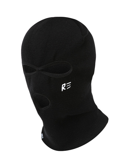 Knit Balaclava Black