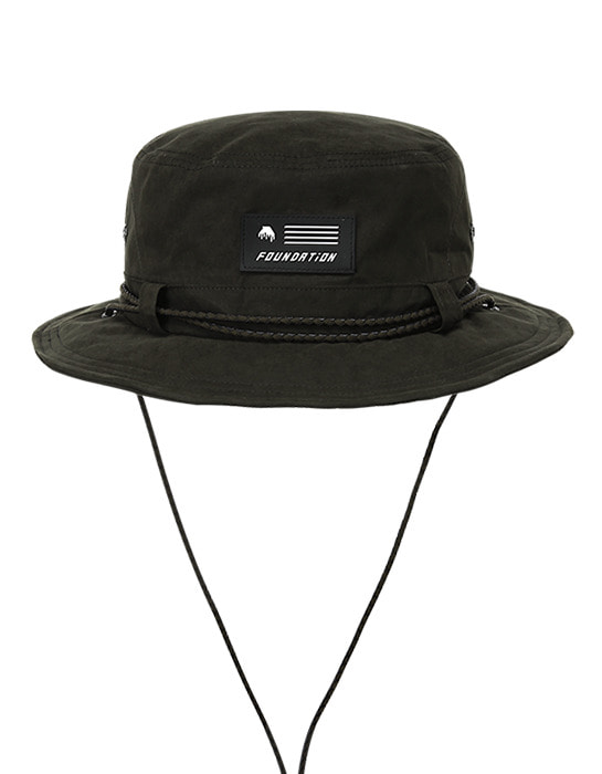 Waxed Bucket Hat Khaki