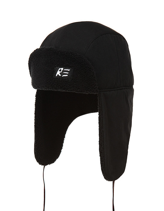 Trapper Hat Black / Black