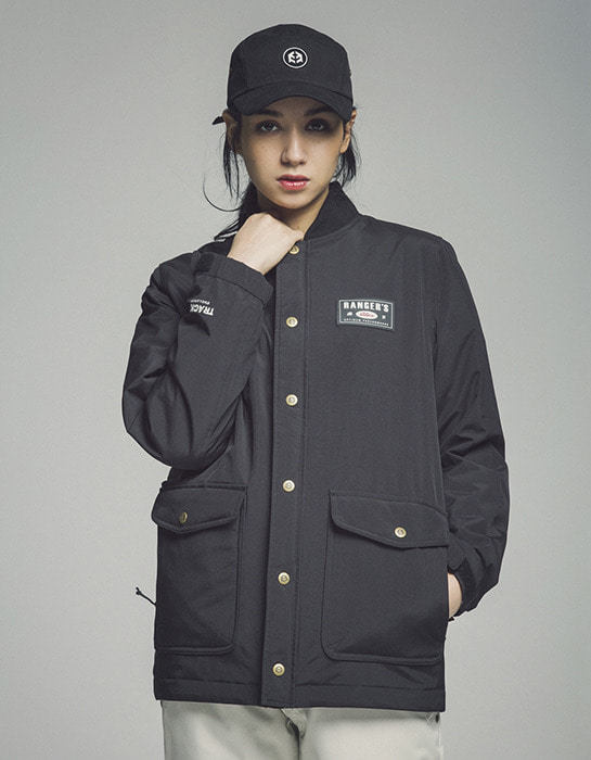 Tracker Jacket Black
