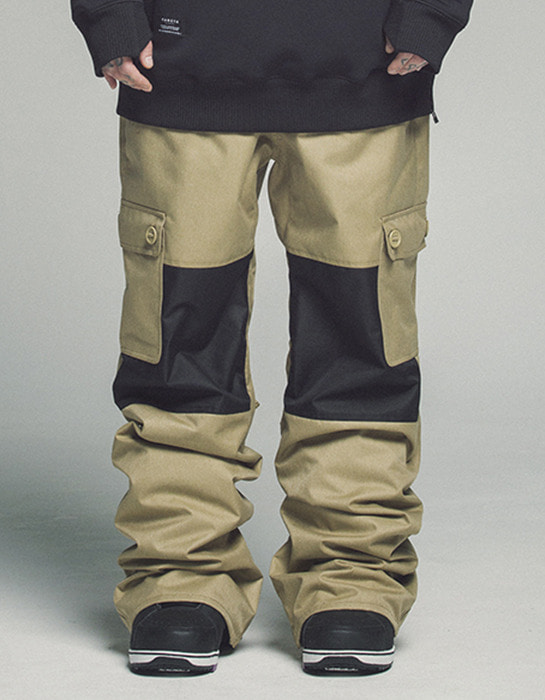 Raptor Pants Beige Black