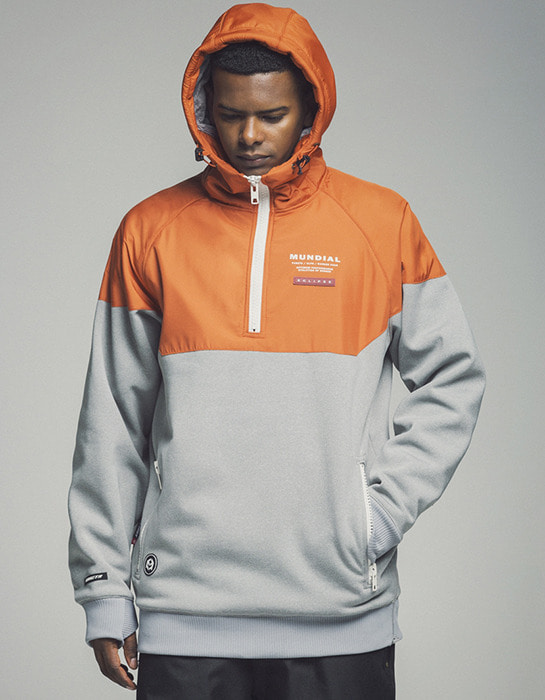 Eclipse Hoodie Orange (방수)