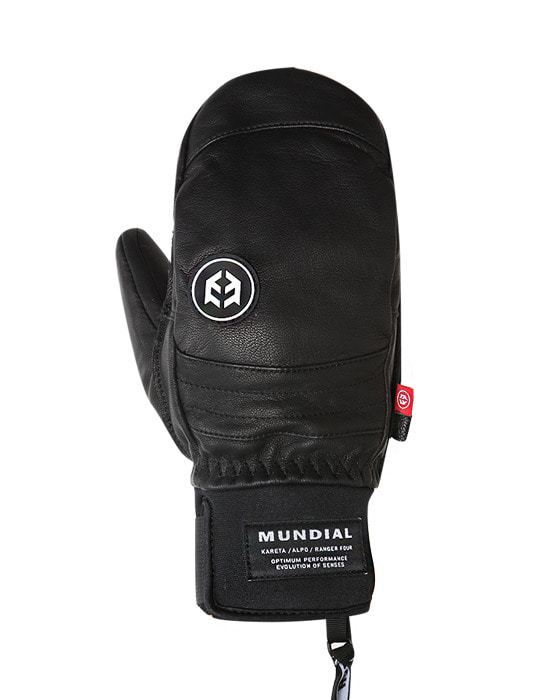 Mundial Leather Glove Black