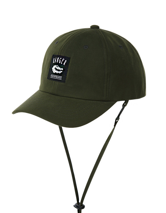 Waxed Flex Cap Olive