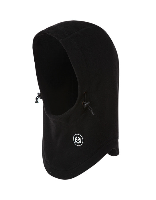 Fleece Hood Warmer Black