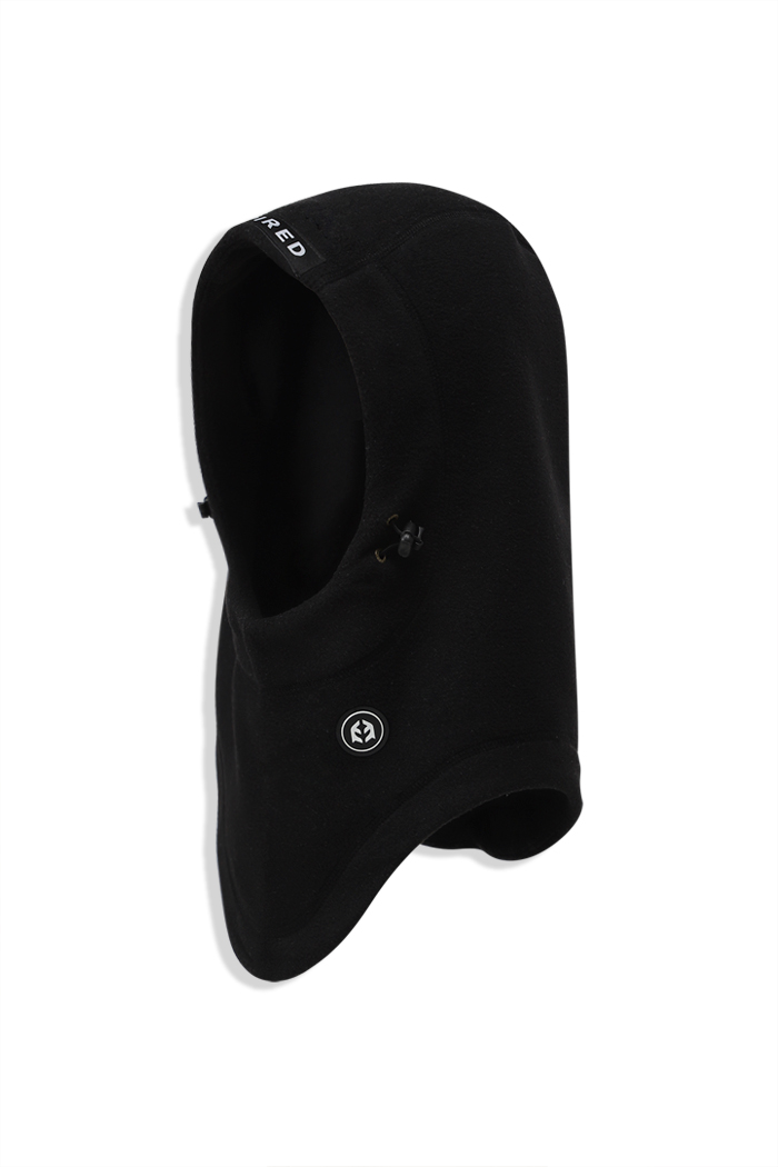 Fleece Hood Warmer Black 1819