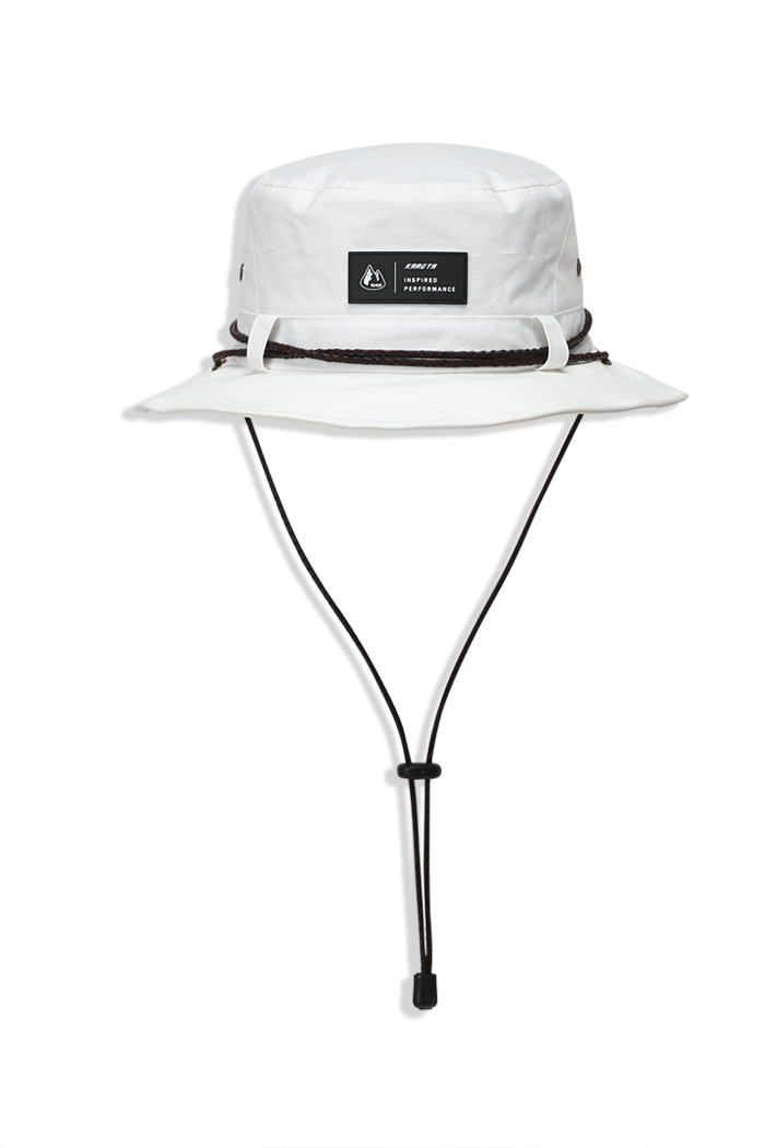 Bucket Hat White (방수)