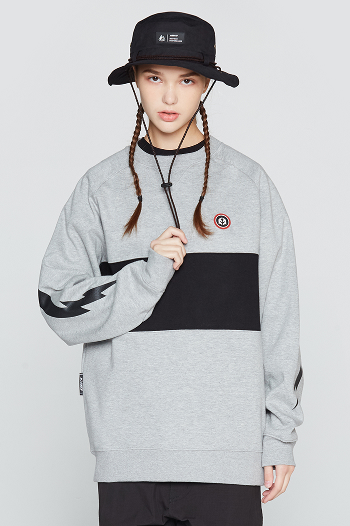 Motion Crewneck Gray (방풍)