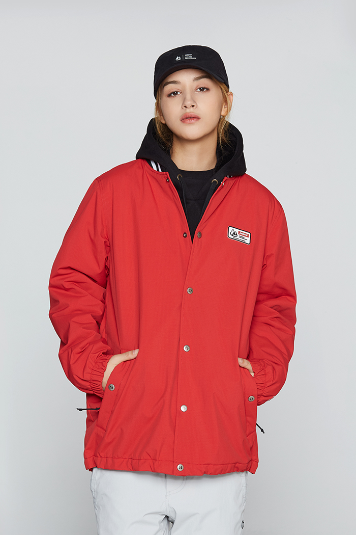 Tracker Jacket Red