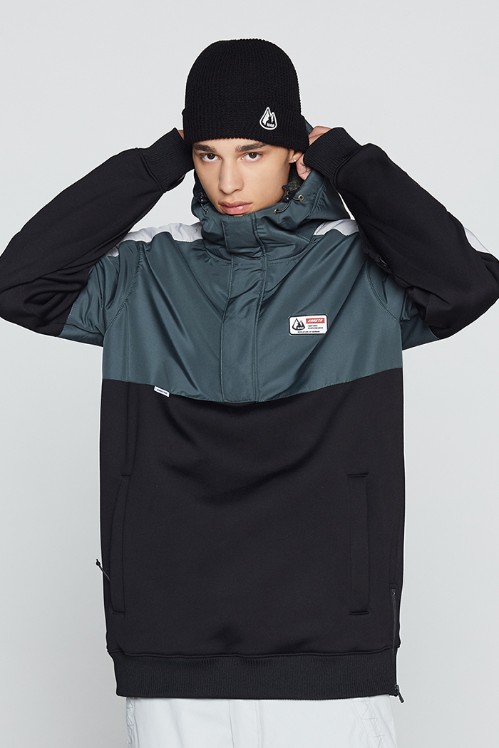 Eclipse Hoodie Green (방수)