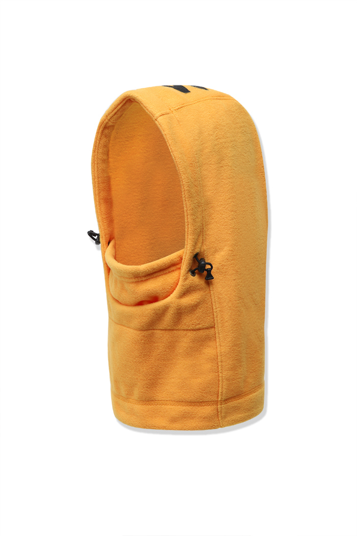 Fleece Hood Warmer Yellow
