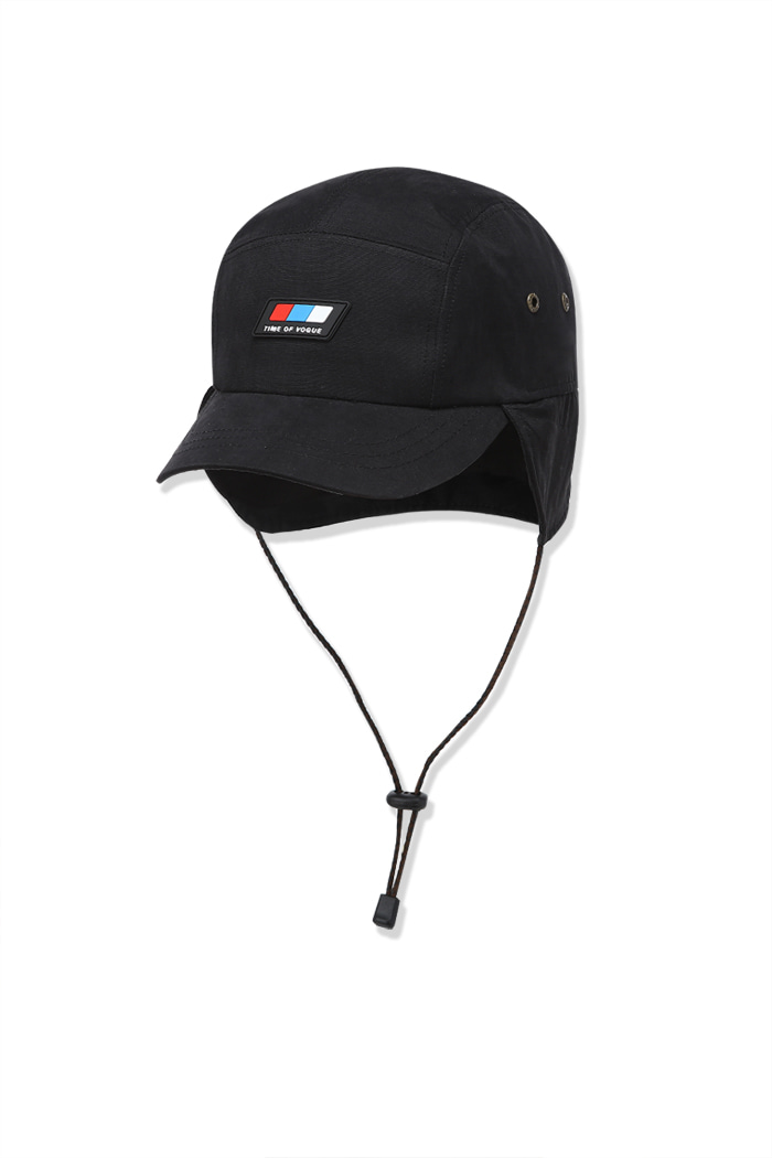 Flap Cap Black