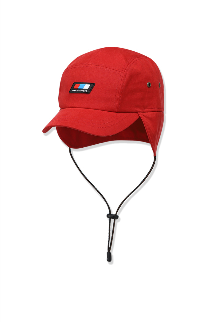 Flap Cap Red