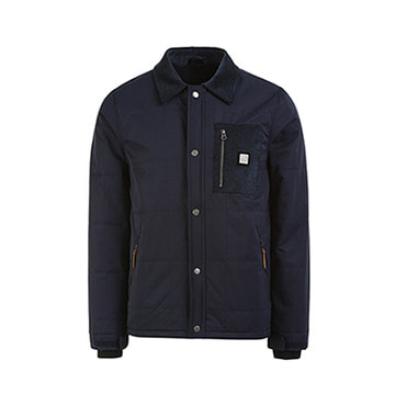 Square Jacket Navy