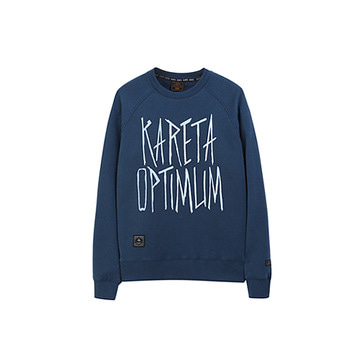 Fancy Crew neck Dark blue