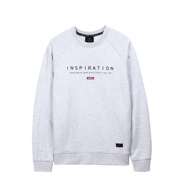 Slogan Crewneck White