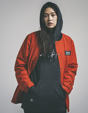 Tracker Jacket Scarlet (1617)