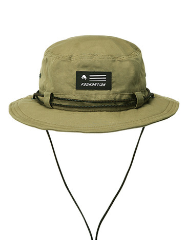 Waxed Bucket Hat Camel