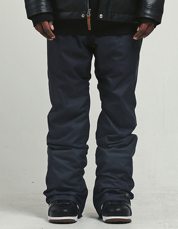 Plain Pants Denim Black (1617) (마감임박)