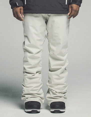 Plain Pants White