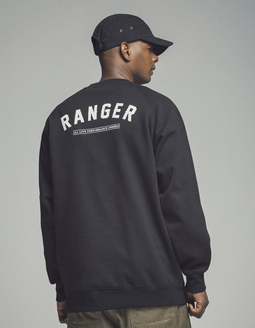Ranger Crew neck Black (방풍)