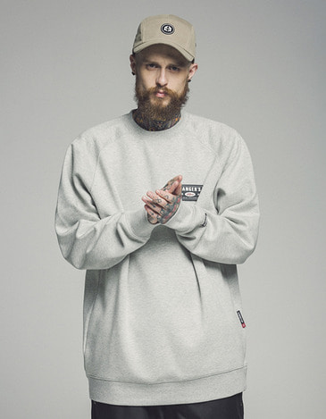 Ranger Crew neck Gray (방풍)