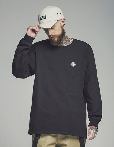 Logo Long Sleeve Black