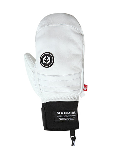 Mundial Leather Glove White
