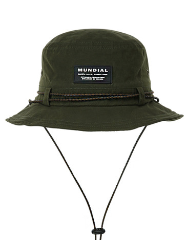 Waxed Bucket Hat Olive
