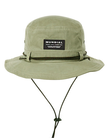 Waxed Bucket Hat Beige