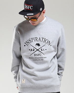Basic Crewneck Gray