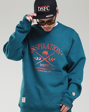 Basic Crewneck Dark mint