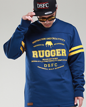 RUGGER Long Sleeve Dark Blue