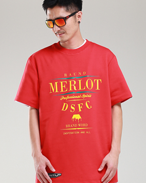 DSFC Tall Tee Red
